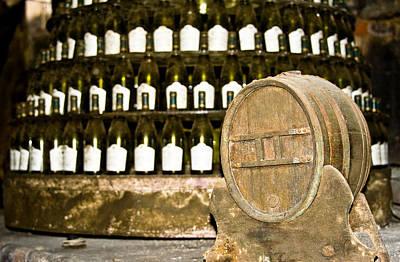 Wine Cellar In Sancerre Poster by Oleg Koryagin