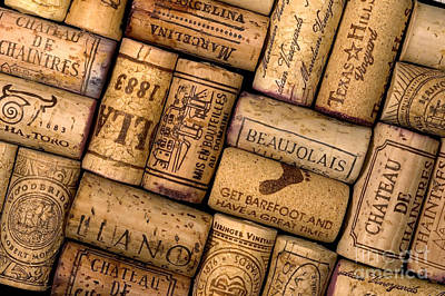 Wine Corks Poster by Gregory G. Dimijian, M.D.