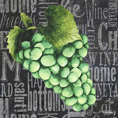 Wine Grapes II Poster