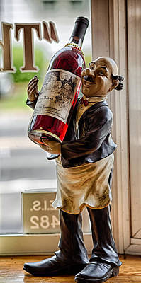 Wine Holder 1 Poster by John Hoey