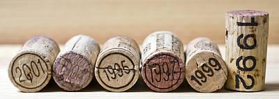 Wine Vintages Poster