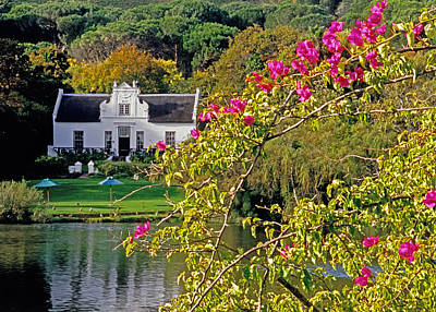 Winelands Manor Poster by Dennis Cox WorldViews