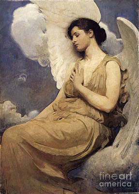Winged Figure Poster by Abbott Handerson Thayer