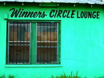 Winner's Circle Lounge Poster