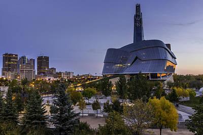 Winnipeg Dawn Poster