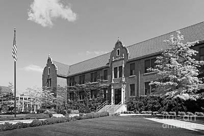 Winona State University Phelps Hall Poster