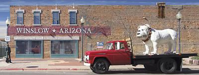 Winslow Arizona Poster by Mike McGlothlen