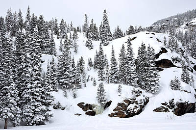 Winter At Bear Lake Poster by Tranquil Light  Photography