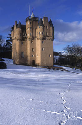 Winter At Craigievar Castle - Aberdeenshire Poster