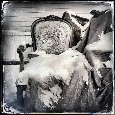 Winter Brocade Poster