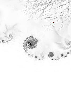 Winter Calls 2 Poster by Sharon Lisa Clarke