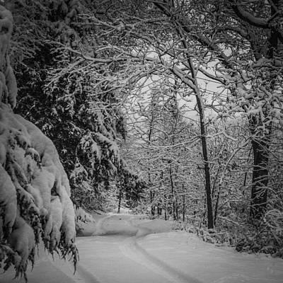 Winter Drive Poster by Joe Scott