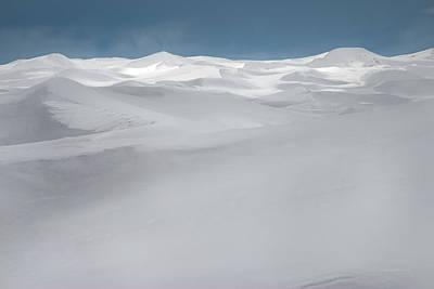 Winter Dunes Poster by Leland D Howard