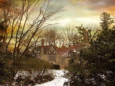 Winter Estate Poster by Jessica Jenney