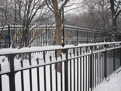 Winter Fences Poster