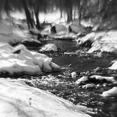 Winter Flow Poster