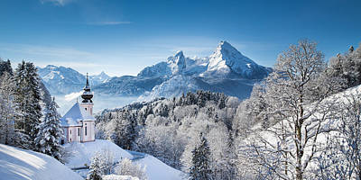 Winter In Bavaria Poster by JR Photography