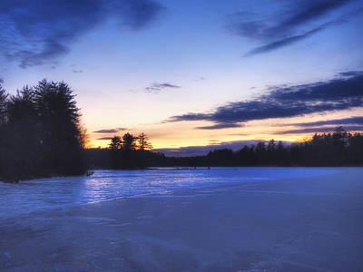 Winter In New England Poster by Joann Vitali