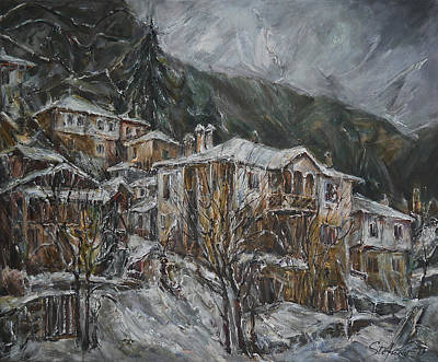 Winter In Shiroka Luka Poster