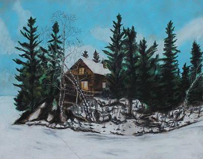Winter Marshland Poster