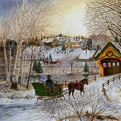 Winter Memories 1 Of 2 Poster