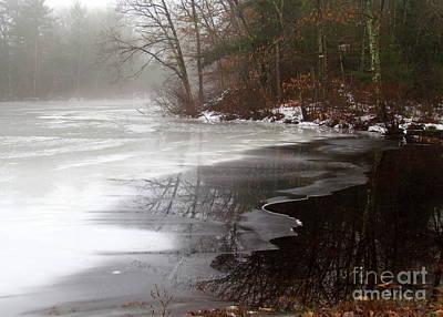 Winter On Tarklin Pond Poster