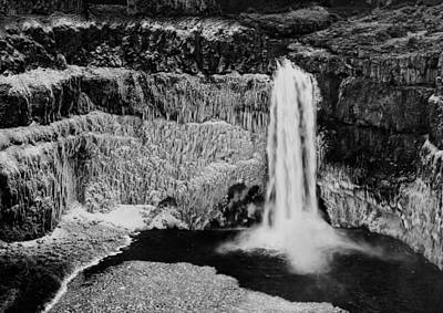 Winter Palouse Falls 3 Poster