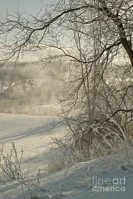 Winter Romance IIi Poster by Jessie Parker
