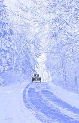 Winter Splendor Poster by Ed Dooley