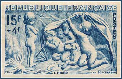 Winter Stamp Poster