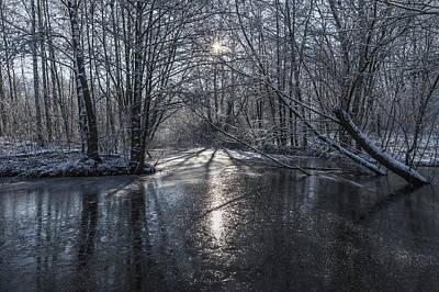 Winter Sun Rays Poster by Svetlana Sewell