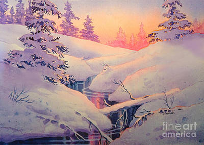 Winter Sun Poster by Teresa Ascone