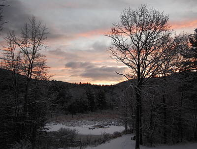 Poster featuring the photograph Winter Sunrise by Mim White