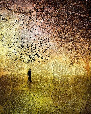 Winter Trees Poster by Bob Orsillo