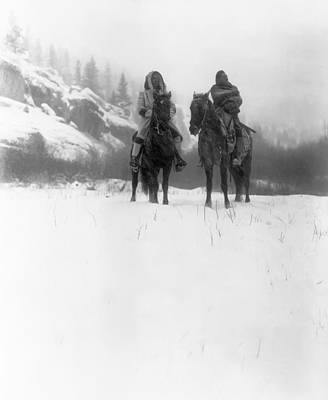 Winter Trek   1908 Poster by Daniel Hagerman