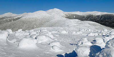 Winter View From Mount Pierce Poster