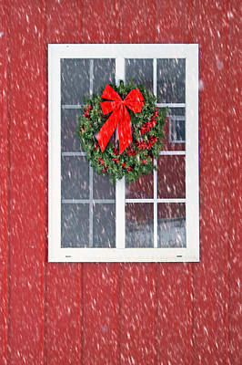 Winter Window - 1 Poster by Nikolyn McDonald