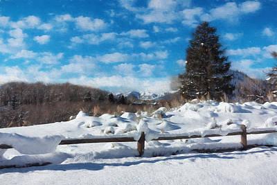 Winter Wonderland - Aspen Poster by Kim Hojnacki