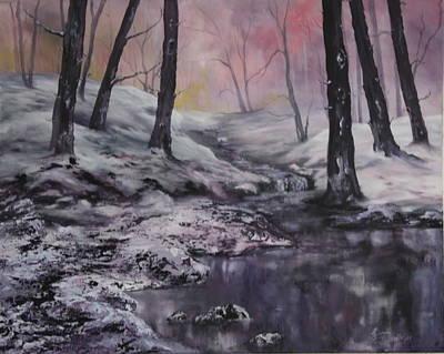 Winter Wonderland Poster by Jean Walker