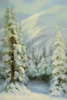 Winter Wonderland Poster by Richard Hinger