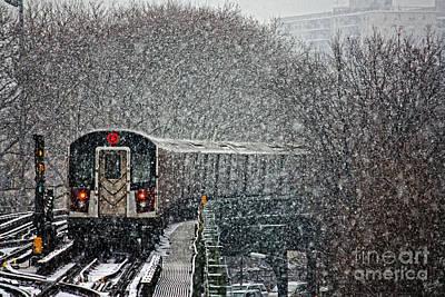 Winter Wonderland Vs Winter Woes Poster by Nishanth Gopinathan