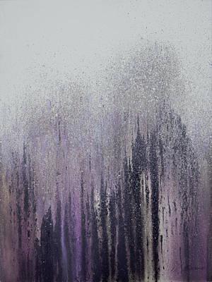 Winter Woods Poster by Roberto Gonzalez