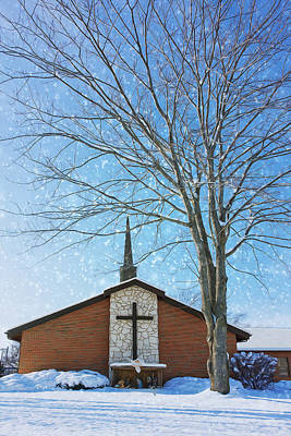 Winter Worship Poster
