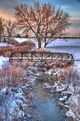 Winter's Bridge Poster by Scott Mahon