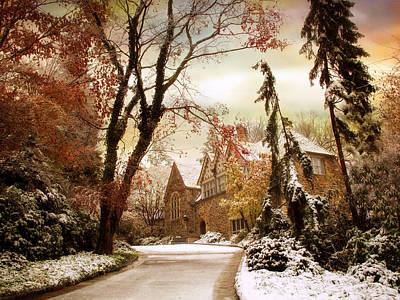 Winter's Entrance Poster by Jessica Jenney