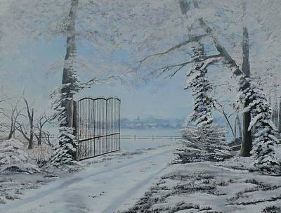 Winter's Grip Poster