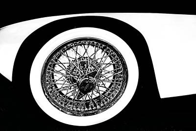 Wire Wheel Poster