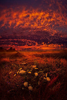 Wisconsin Twilight Poster by Phil Koch