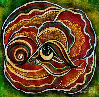 Wisdom Spirit Eye Poster by Deborha Kerr