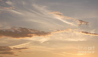 Poster featuring the photograph Wispy Sunset by Debi Dmytryshyn
